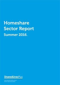 Homeshare Report 2015